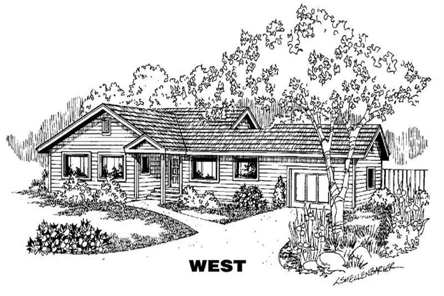 Main image for house plan # 6350