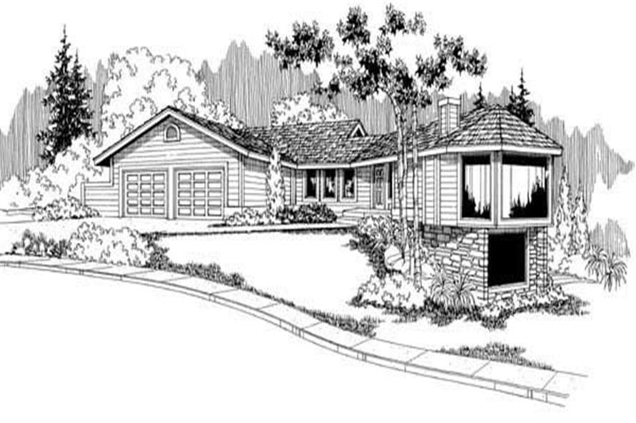 Main image for house plan # 3989
