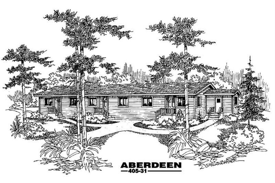 Main image for house plan # 6366
