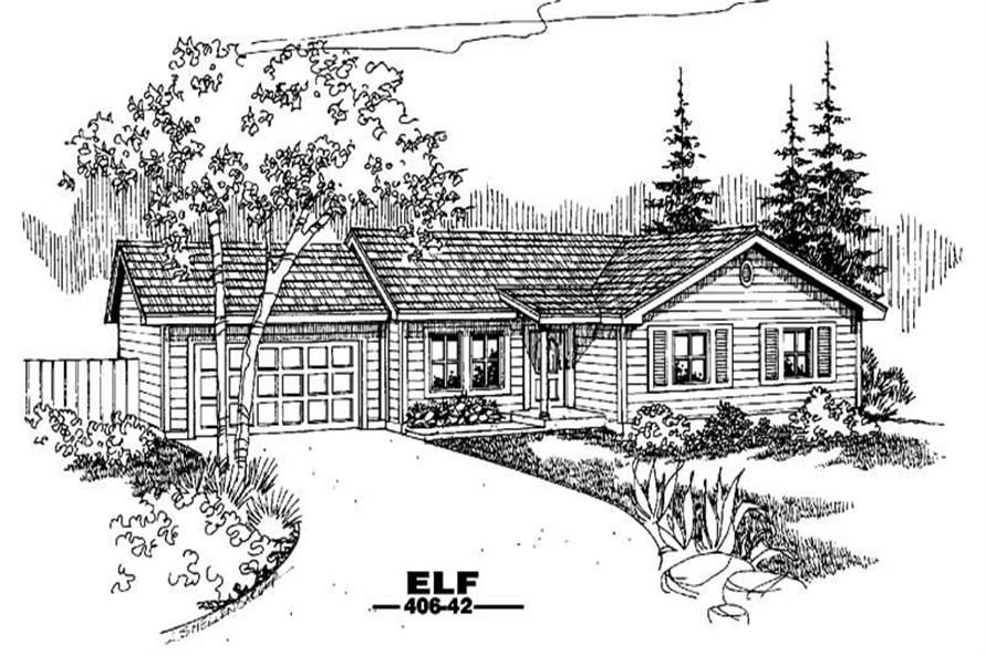 Main image for house plan # 6582