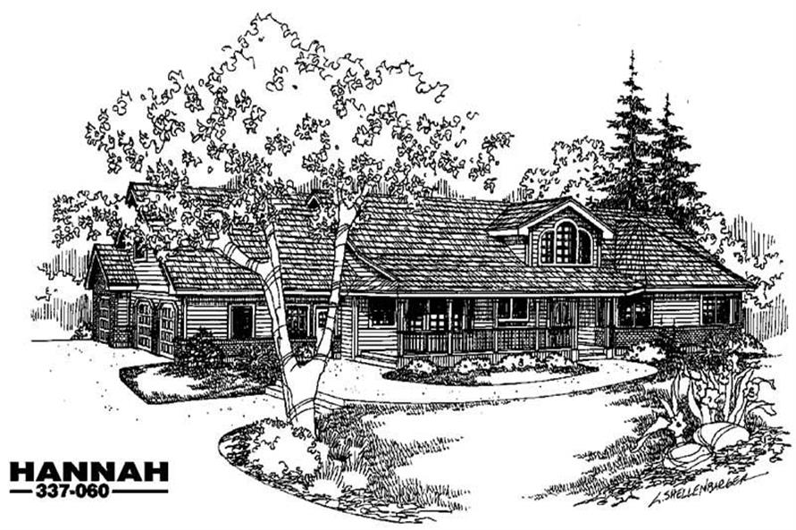 Main image for house plan # 3639