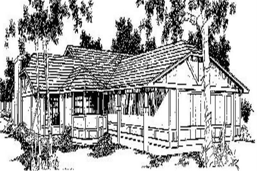 Main image for house plan # 6714
