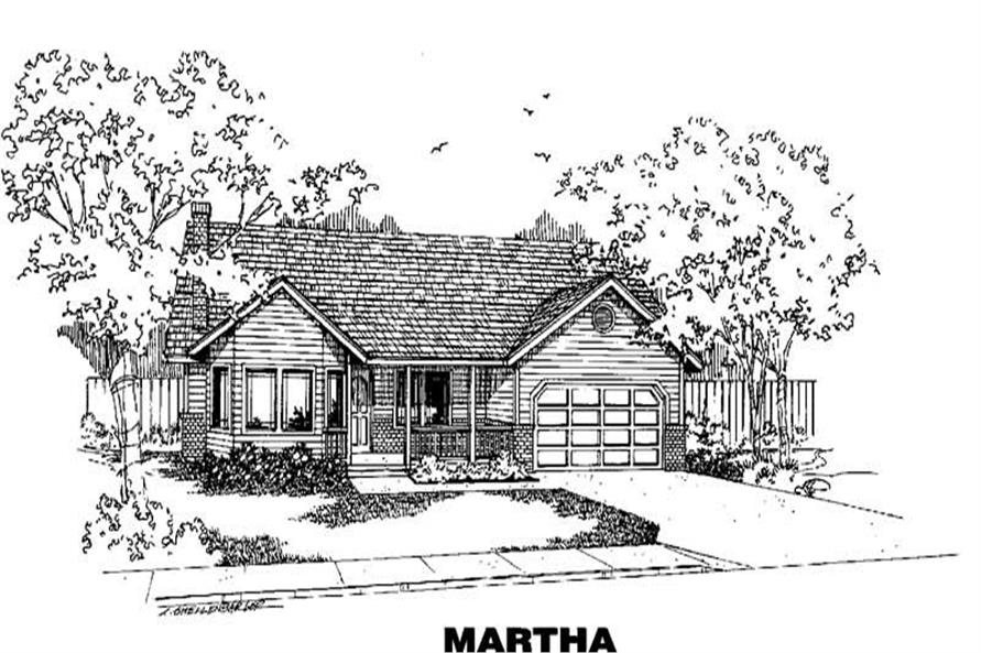 Main image for house plan # 3633