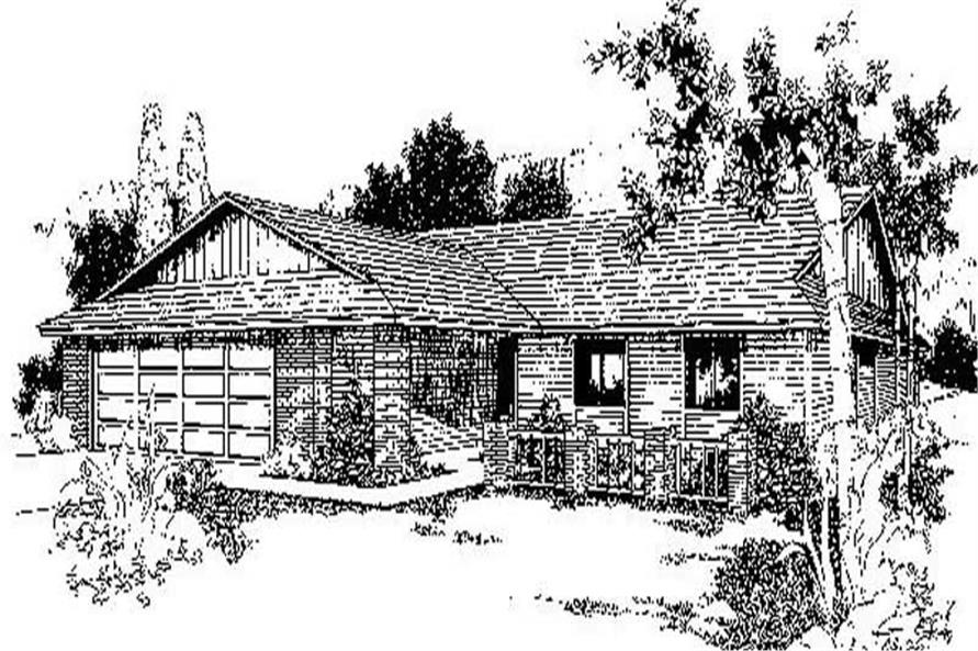 Main image for house plan # 6712