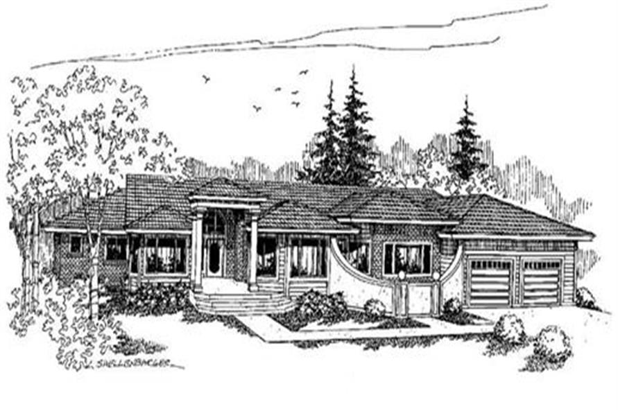 Main image for house plan # 4231