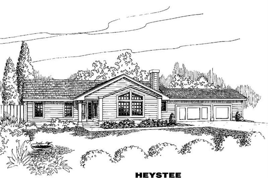 Main image for house plan # 4237