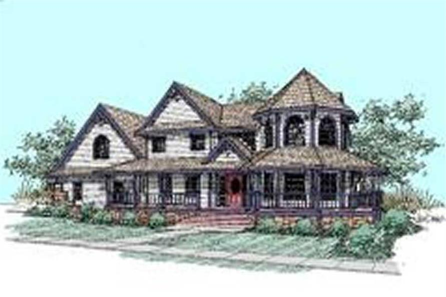 Main image for house plan # 7649