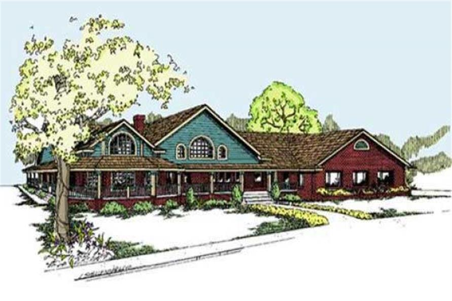 Main image for house plan # 7623