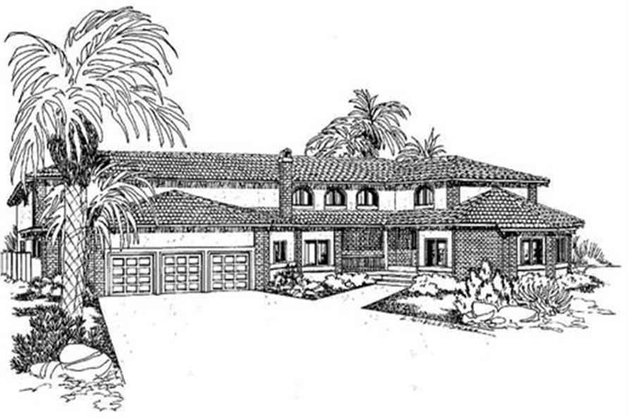 Main image for house plan # 6577