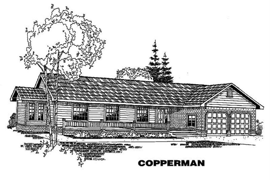 Main image for house plan # 3624