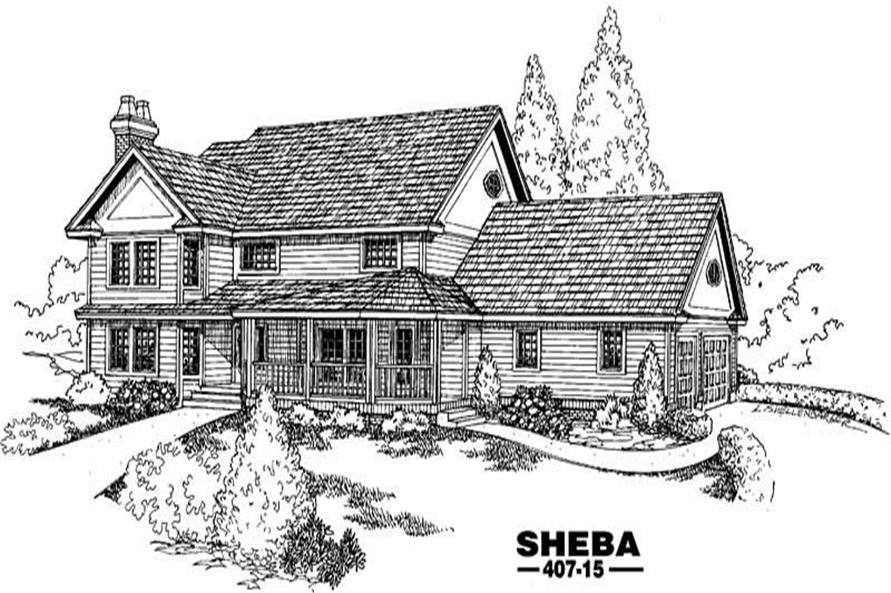 Main image for house plan # 6611