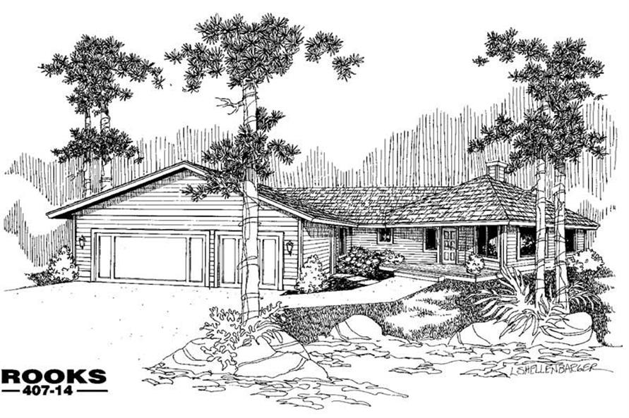 Main image for house plan # 6610