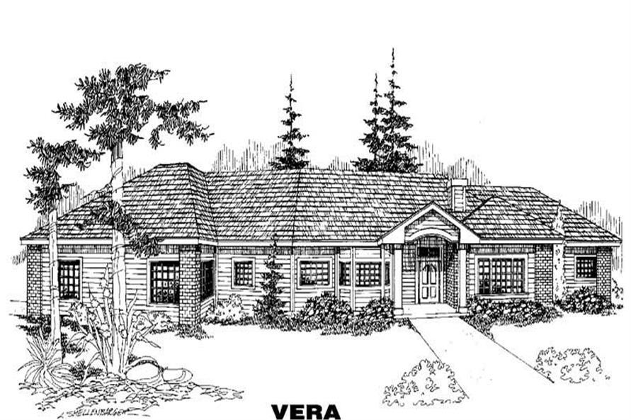 Main image for house plan # 5539