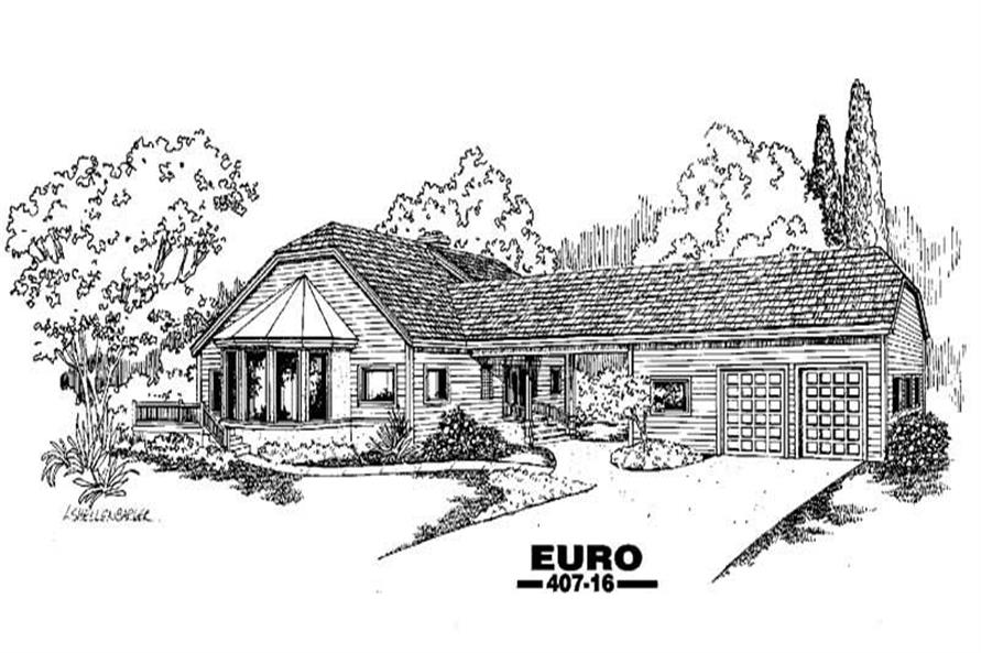 Main image for house plan # 6612