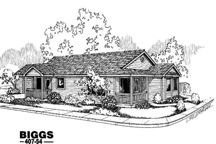 Main image for house plan # 6626