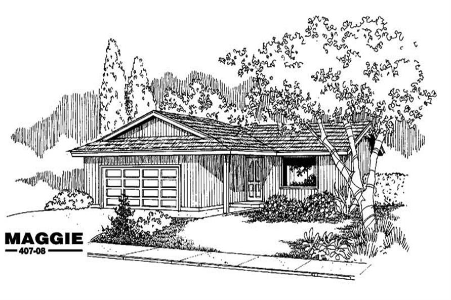 Main image for house plan # 6607