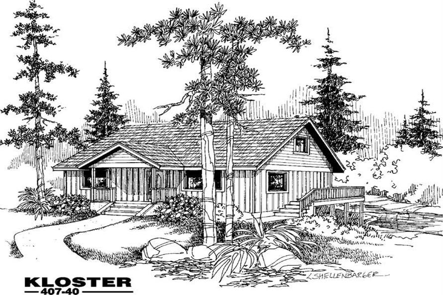 Main image for house plan # 6619