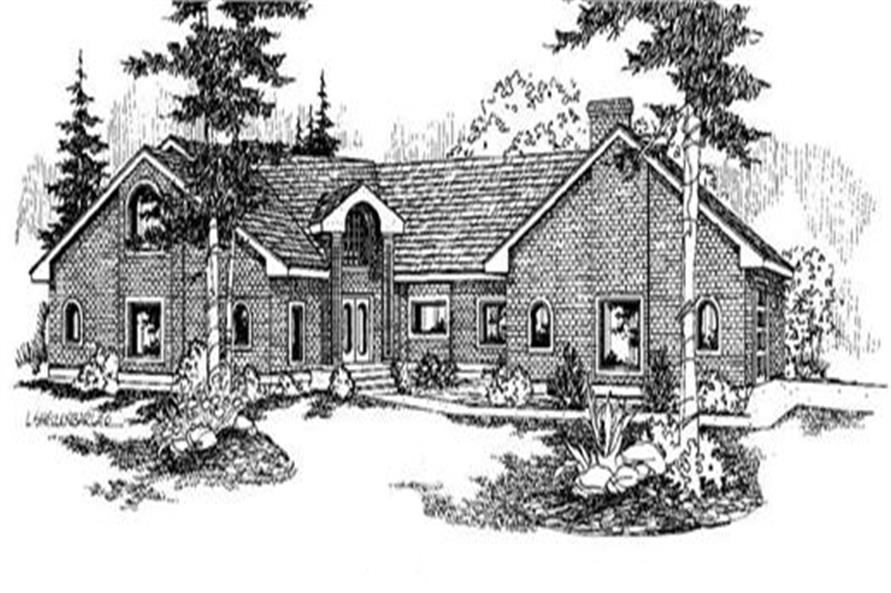 Main image for house plan # 6631