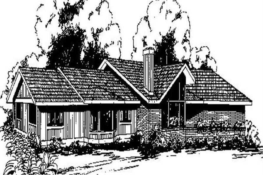 Main image for house plan # 6699