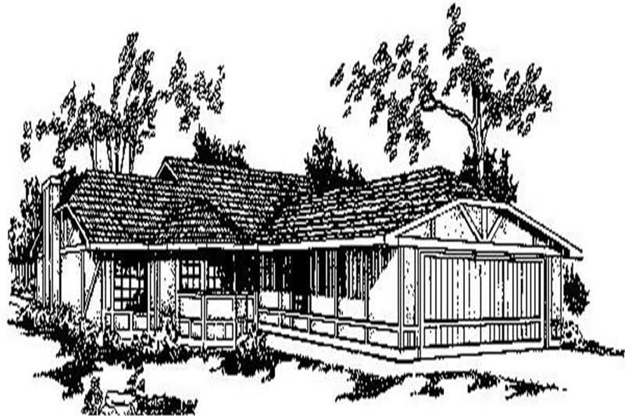 Main image for house plan # 6711