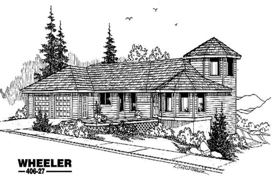 Main image for house plan # 6574
