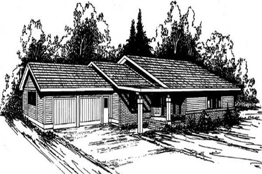 Main image for house plan # 6696