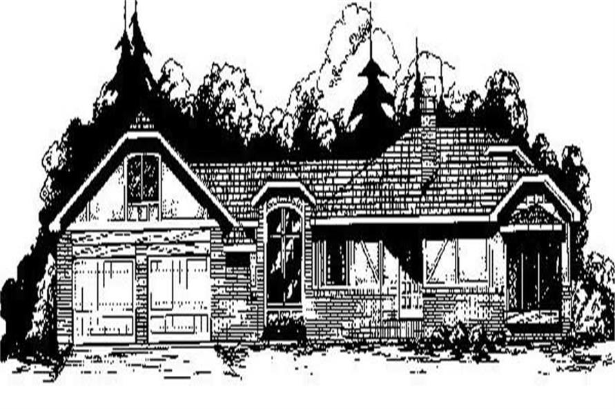 Main image for house plan # 6695
