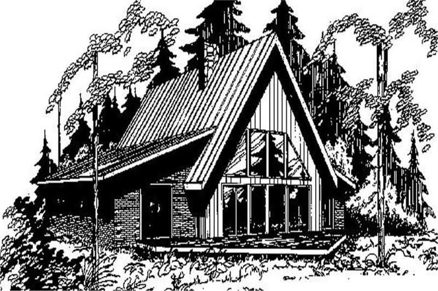 Main image for house plan # 6703