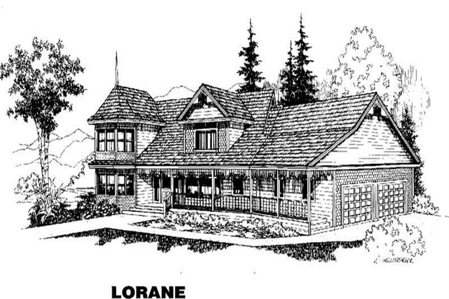 Main image for house plan # 6597