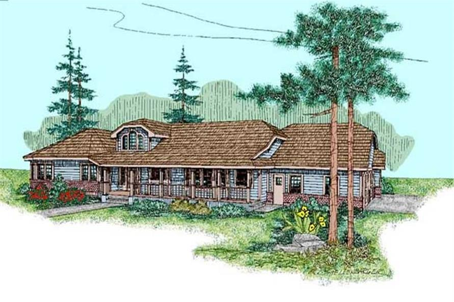 Main image for house plan # 6786