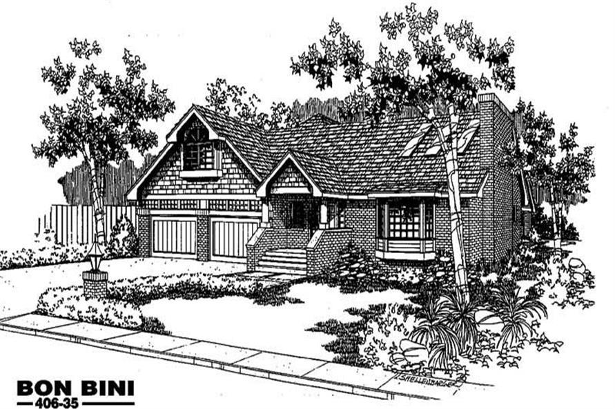Main image for house plan # 6580