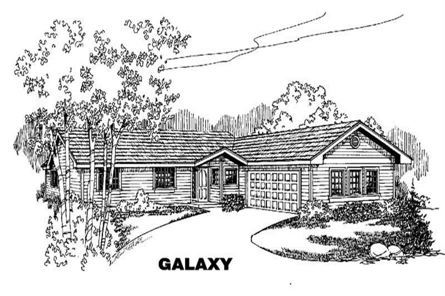 Main image for house plan # 6596
