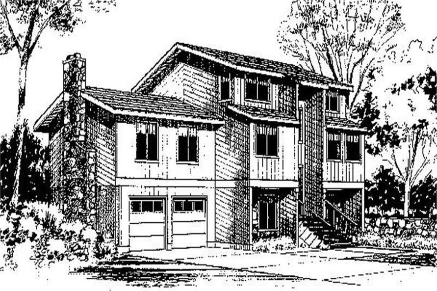 Main image for house plan # 6675