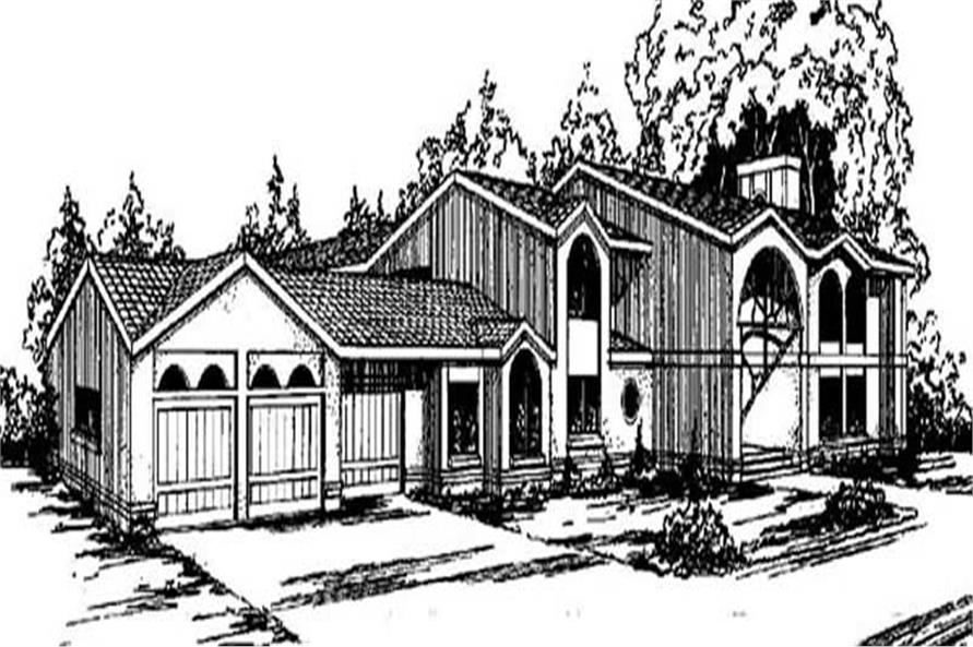 Main image for house plan # 6684