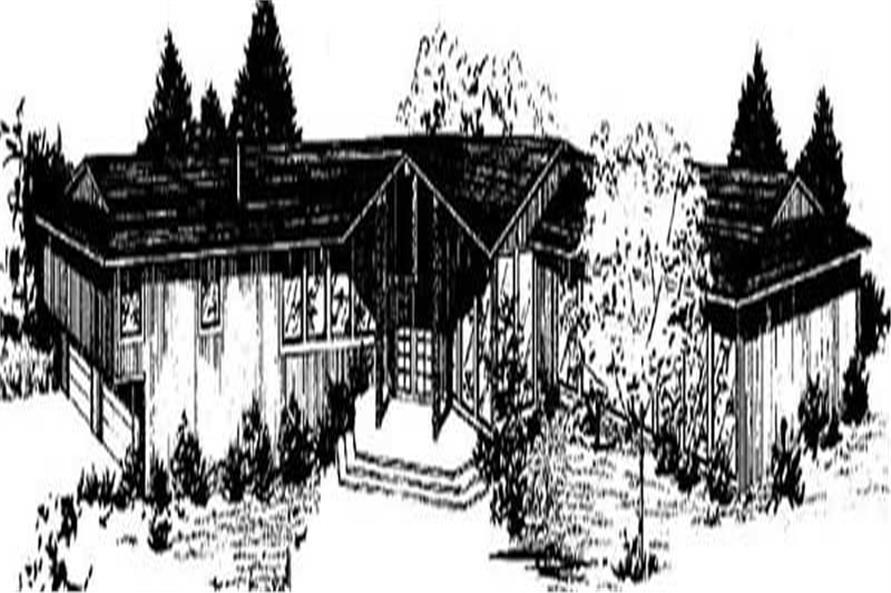 Main image for house plan # 6683