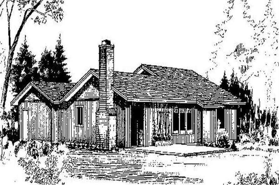Main image for house plan # 6678