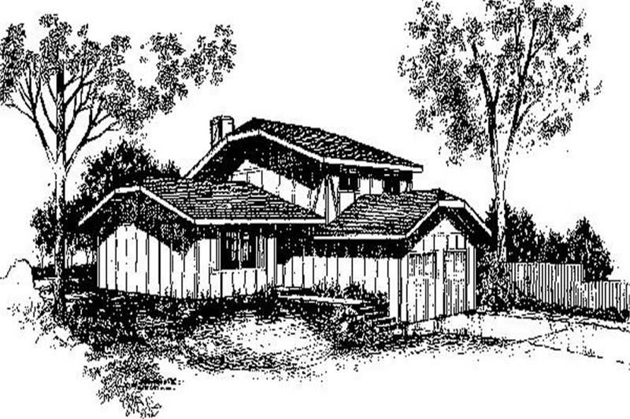 Main image for house plan # 6673