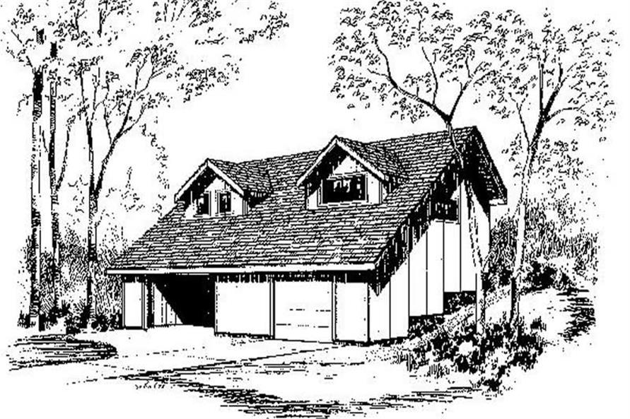 Main image for house plan # 6672
