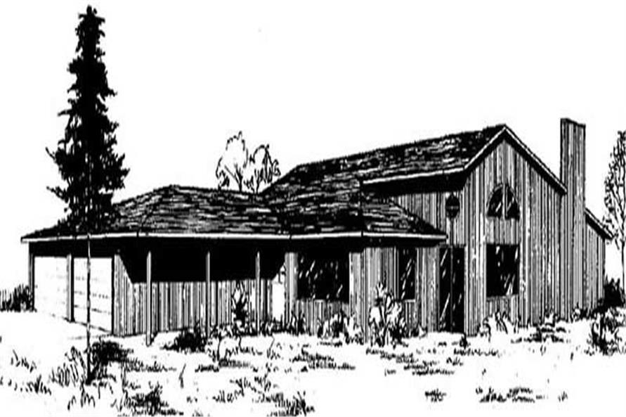 Main image for house plan # 6663