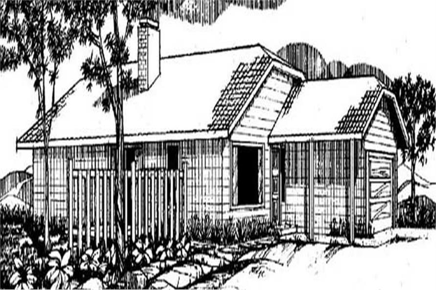 Main image for house plan # 6662