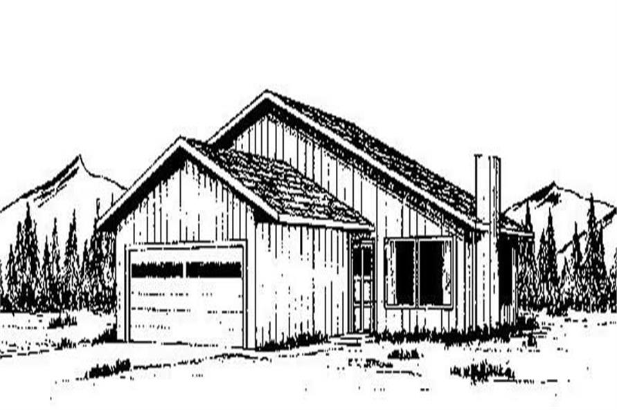 Main image for house plan # 6660