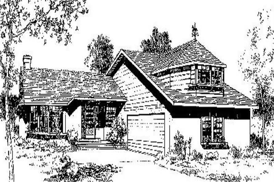 Main image for house plan # 6682