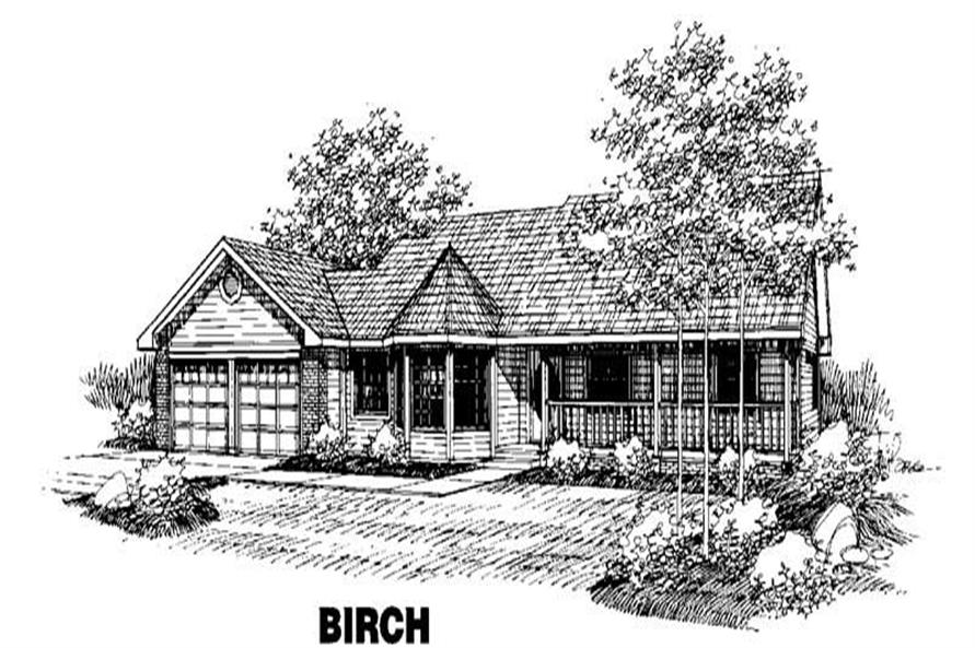 Main image for house plan # 4259