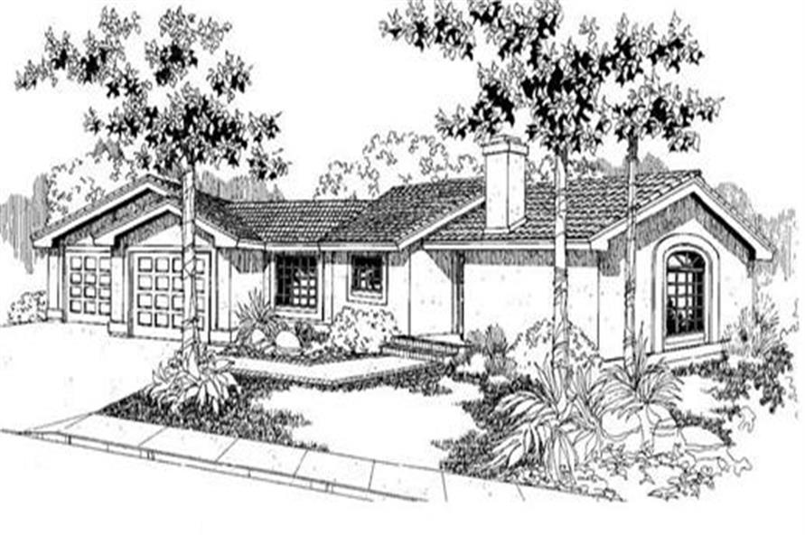 Main image for house plan # 3852