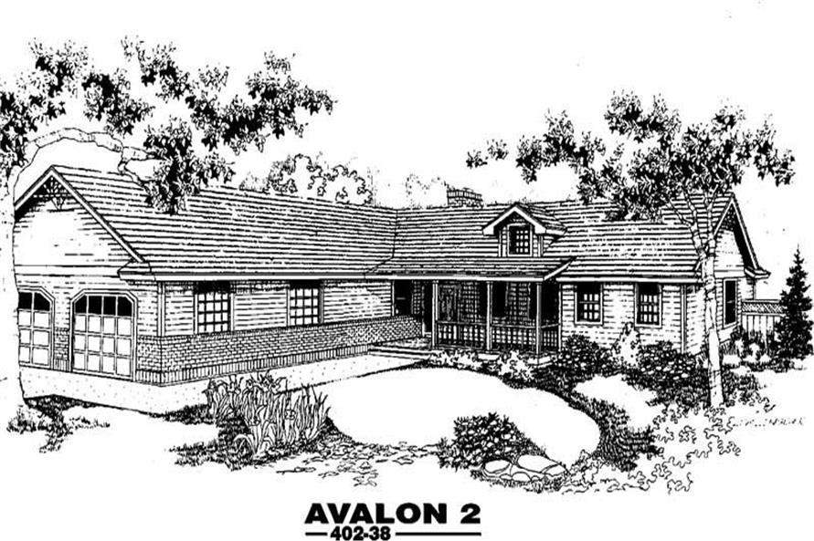 Main image for house plan # 4234
