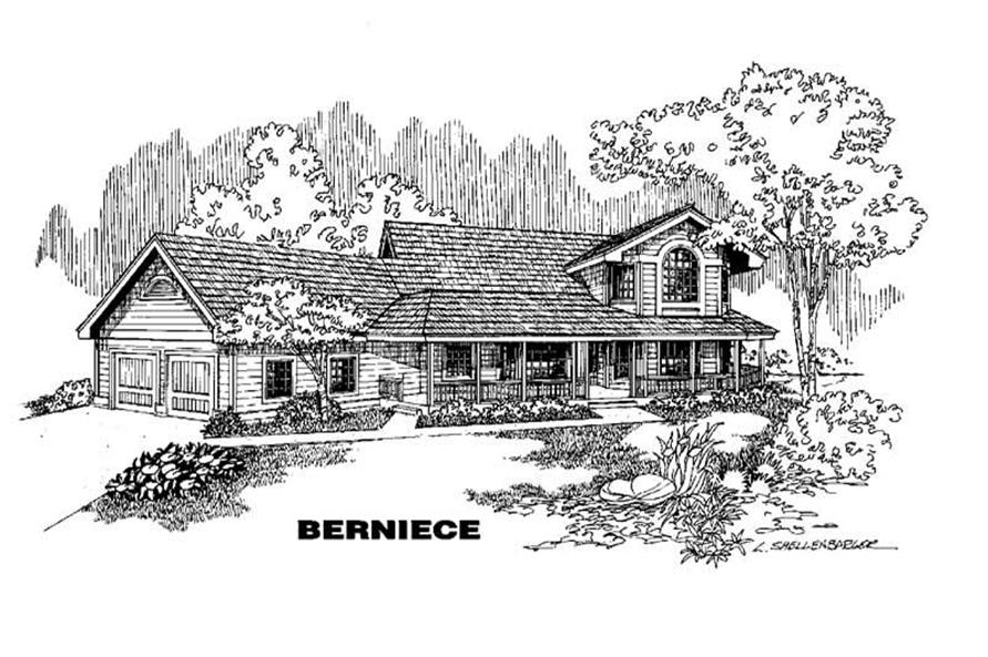 Main image for house plan # 4264