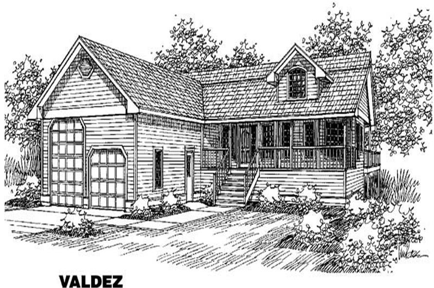Main image for house plan # 4268