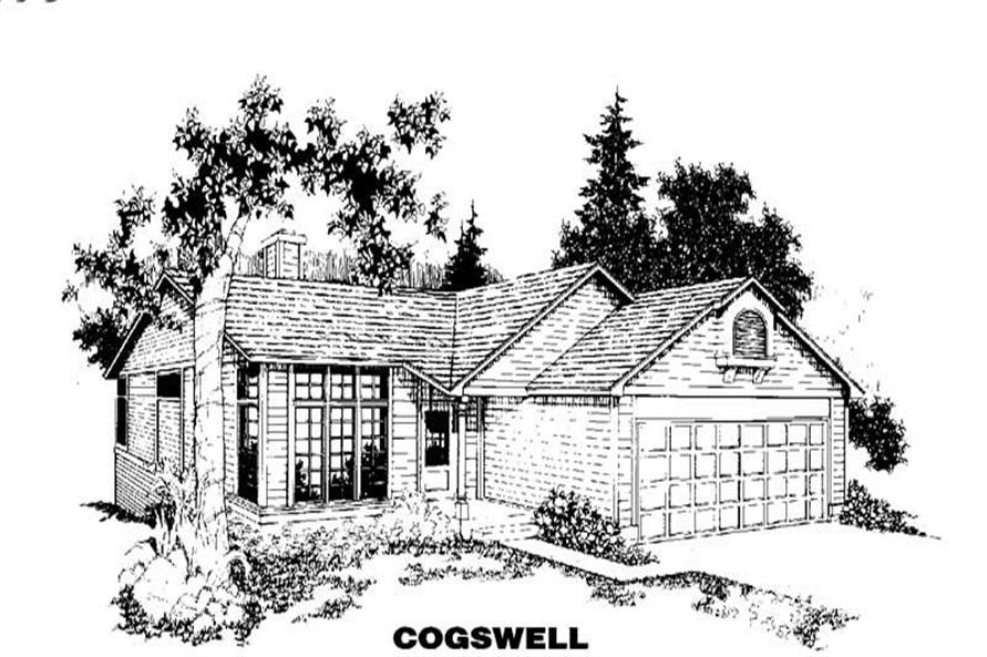 Main image for house plan # 4209