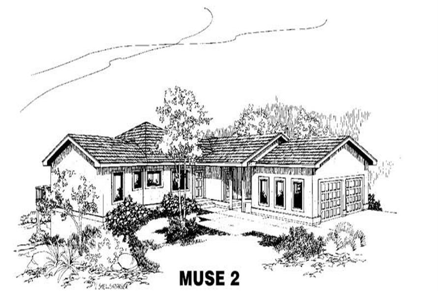 Main image for house plan # 4213