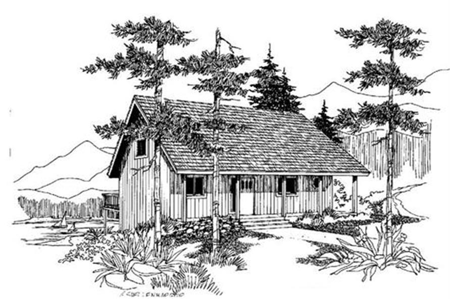 Main image for house plan # 4221